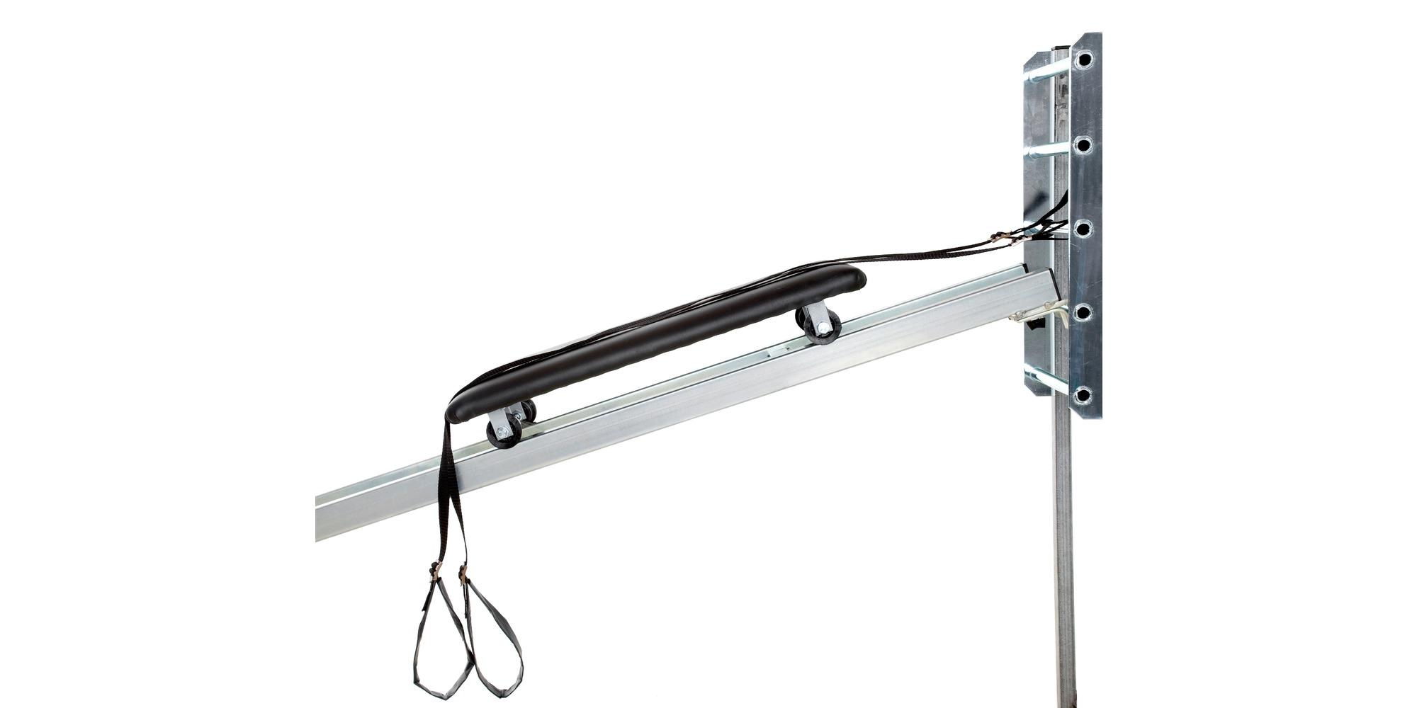 Bråsterk armtreningsapparat m/ribbevegg