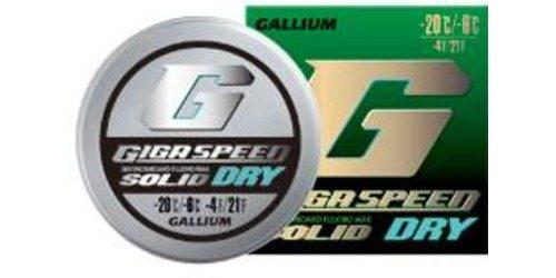 Gallium Gigaspeed Dry Solid -6 - -20 C