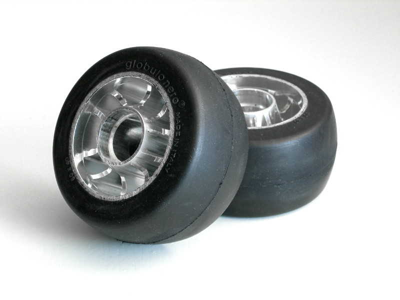 Globulo Nero bakhjul classic m/sperrelager