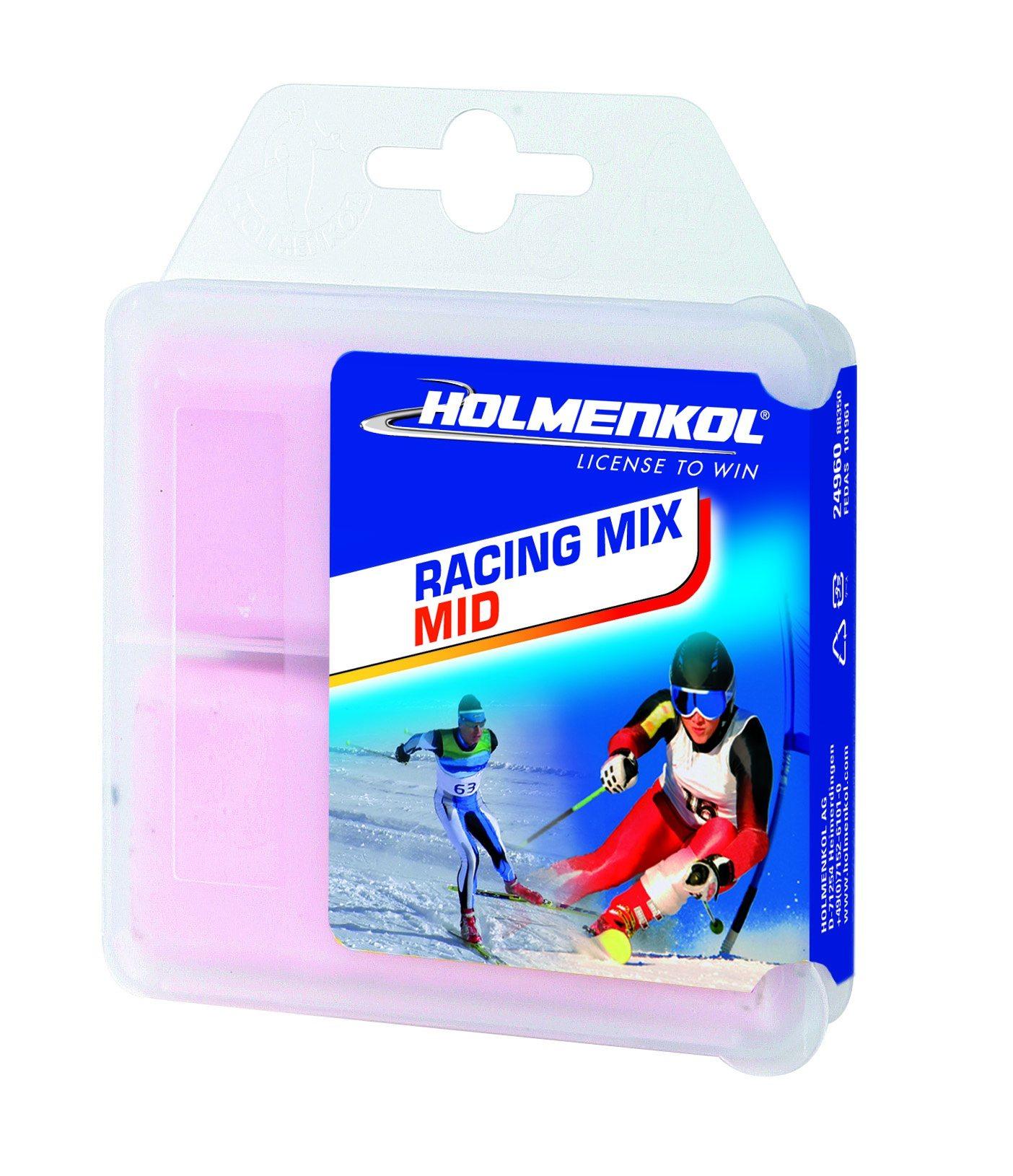 Holmenkol RacingMix Mid fluorvoks -4 - -10 C
