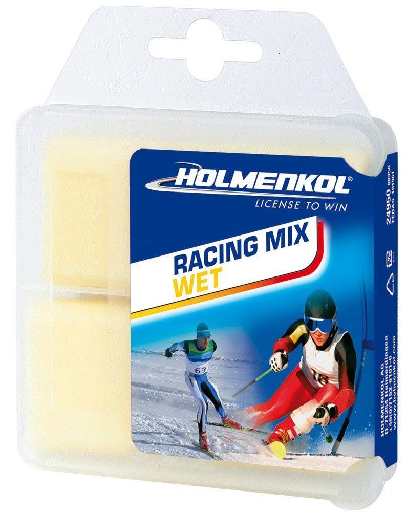 Holmenkol RacingMix  fluorvoks Wet 0 - -4 C