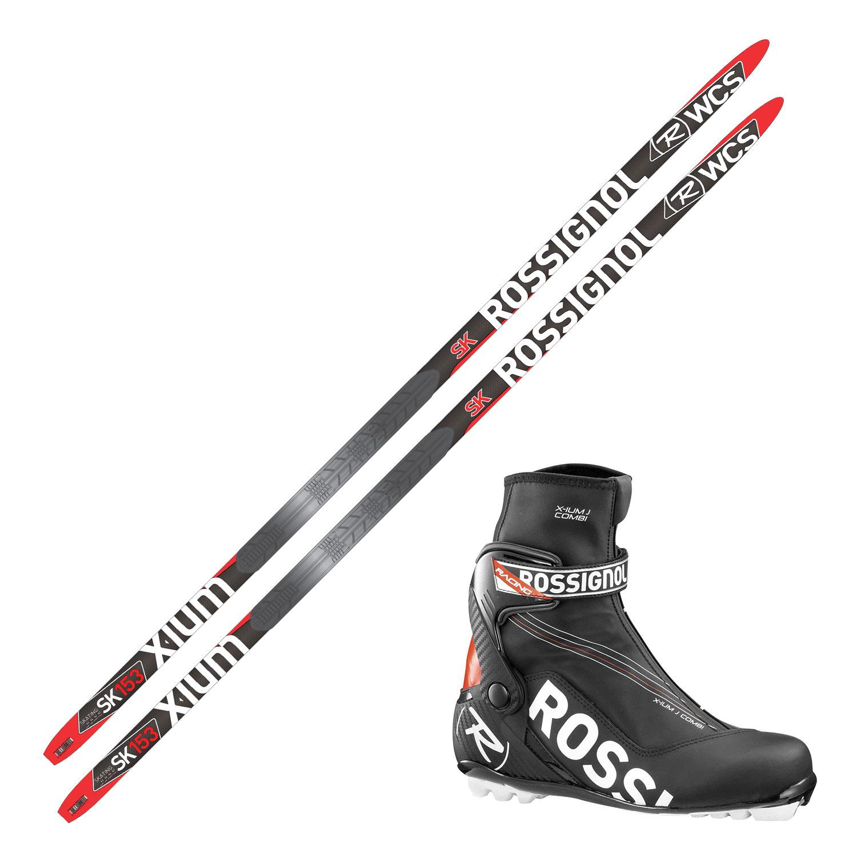 Langrennspakke Rossignol X-ium WCS skate jr.