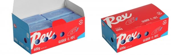Rex glider blå  -2 - -8 C 600 gr.
