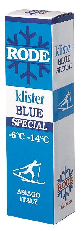 Rode K10 Blått klister -6 - -14 C