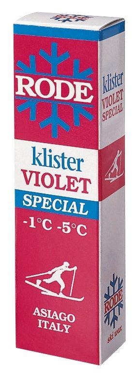 Rode K36 Violett spesial klister -1 - -5 C