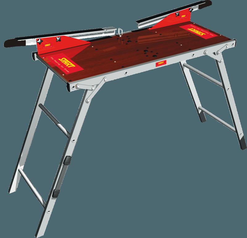 Start sammenleggbart smørebord