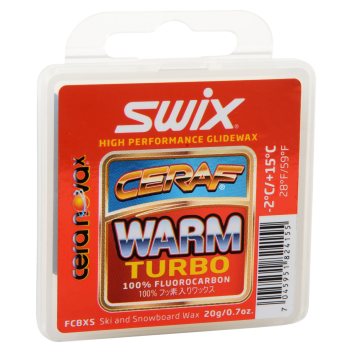 Swix Cera F solid warm turbo  -2 - +15 C