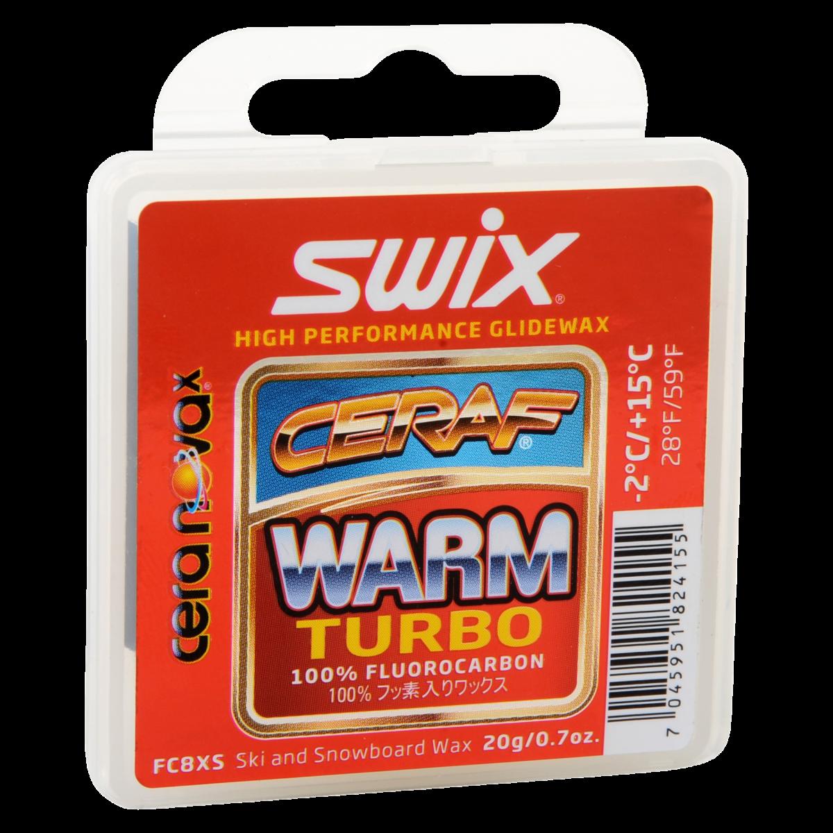 Swix Cera F solid warm turbo  -2 - +15 C