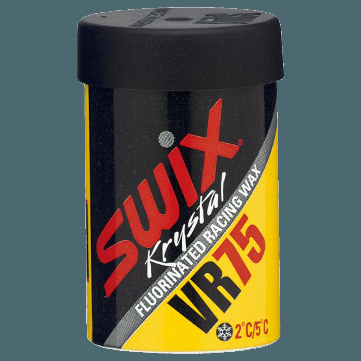 Swix tørrvoks VR075 Myk klistervoks - gul