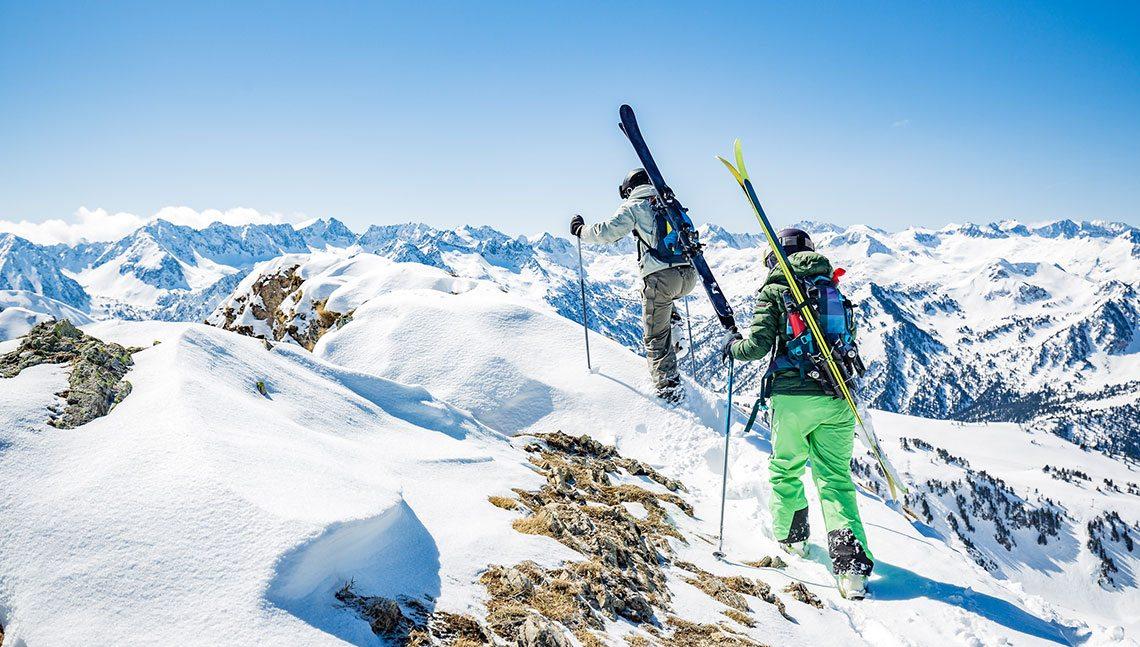 Fjelltur med ski